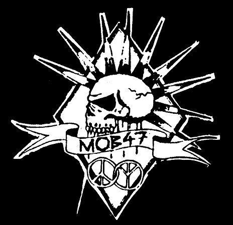 Mob 47 MOB 47 skull logo Patch 115 FOAD Records Scareystore