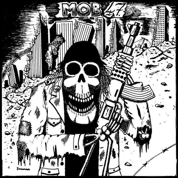 Mob 47 MOB 47 Krnvapen Attack EP Insane Society records
