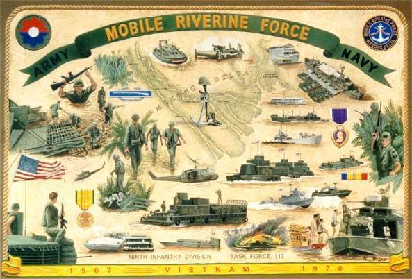 Mobile Riverine Force Mobile Riverine Force Association Poster