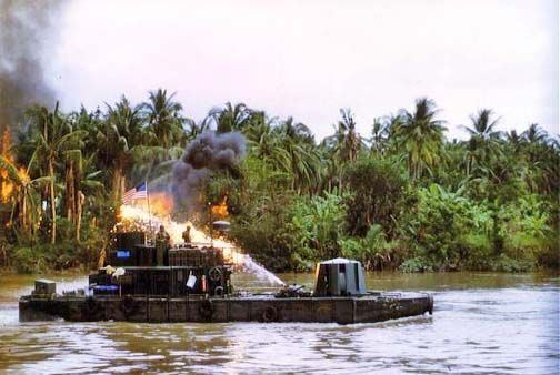 Mobile Riverine Force River Patrol Force Vietnam The Monitors were the battleships of