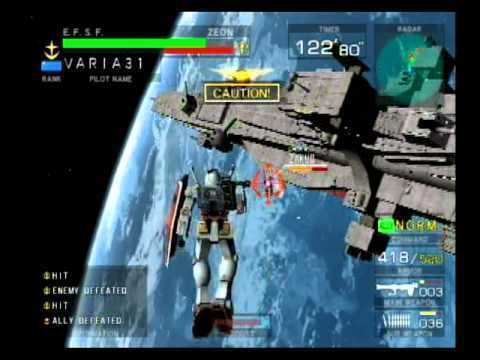 Mobile Suit Gundam: Federation vs. Zeon Mobile Suit Gundam Federation vs Zeon Gameplay YouTube