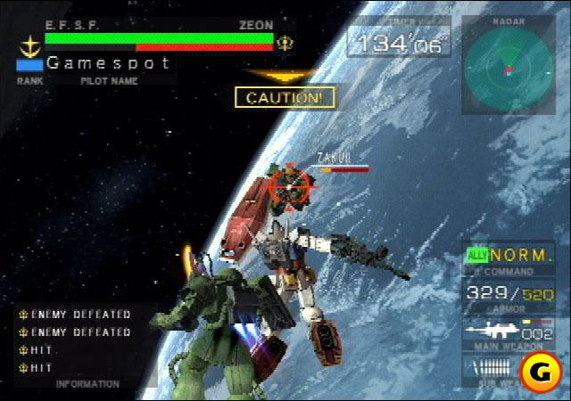 Mobile Suit Gundam: Federation vs. Zeon Mobile Suit Gundam Federation vs Zeon Images GameSpot