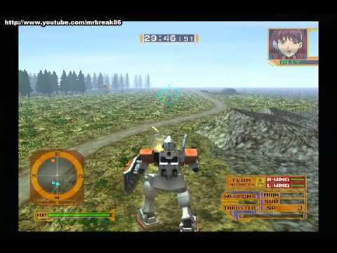Mobile Suit Gundam: Lost War Chronicles PS2 Mobile Suit Gundam Lost War Chronicles EFSF Mission01 YouTube