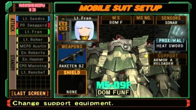 Mobile Suit Gundam: Zeonic Front Let39s Play Mobile Suit Gundam Zeonic Front Part 10 YouTube