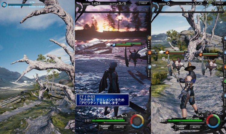 Mobius Final Fantasy Mobius Final Fantasy HD iOS FIRST GAMEPLAY YouTube