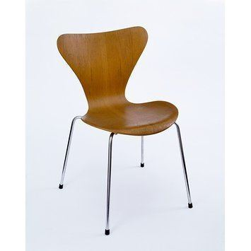 Model 3107 chair 3107 Jacobsen Arne Emil VampA Search the Collections