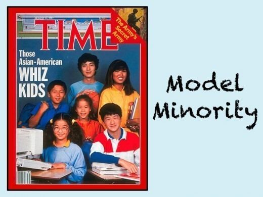 Model minority terms amp themes