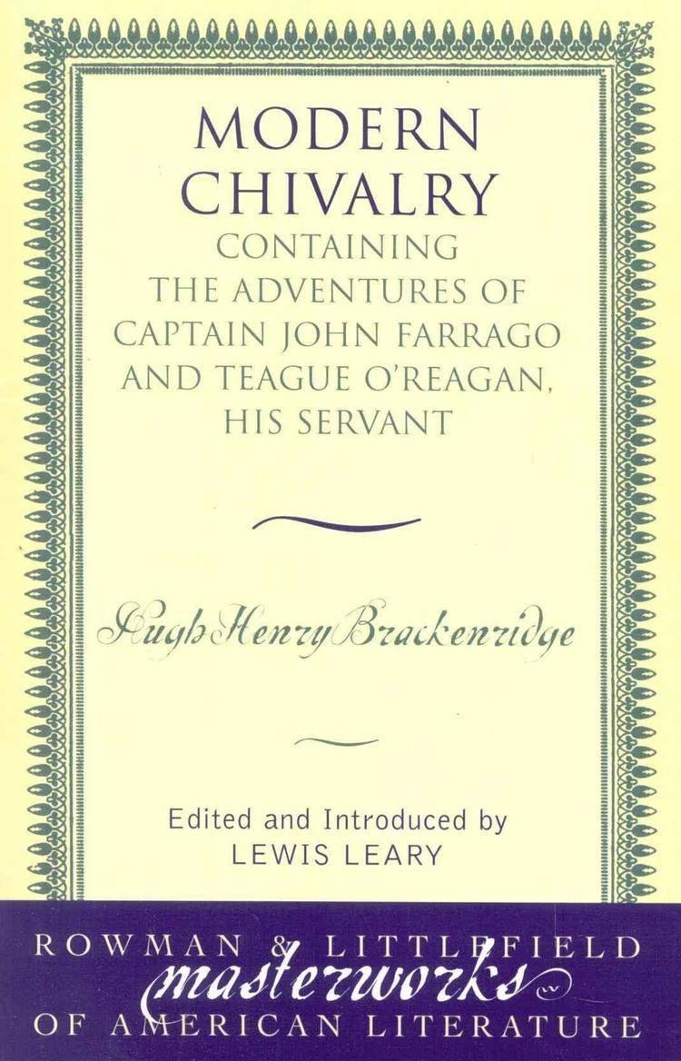 Modern Chivalry - Alchetron, The Free Social Encyclopedia