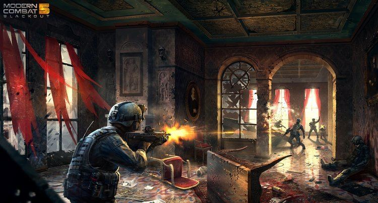 Modern Combat 5: Blackout Modern Combat 5 Blackout39 Release Date Confirmed July 24th
