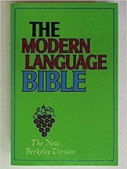Modern Language Bible httpsimagesnasslimagesamazoncomimagesI6