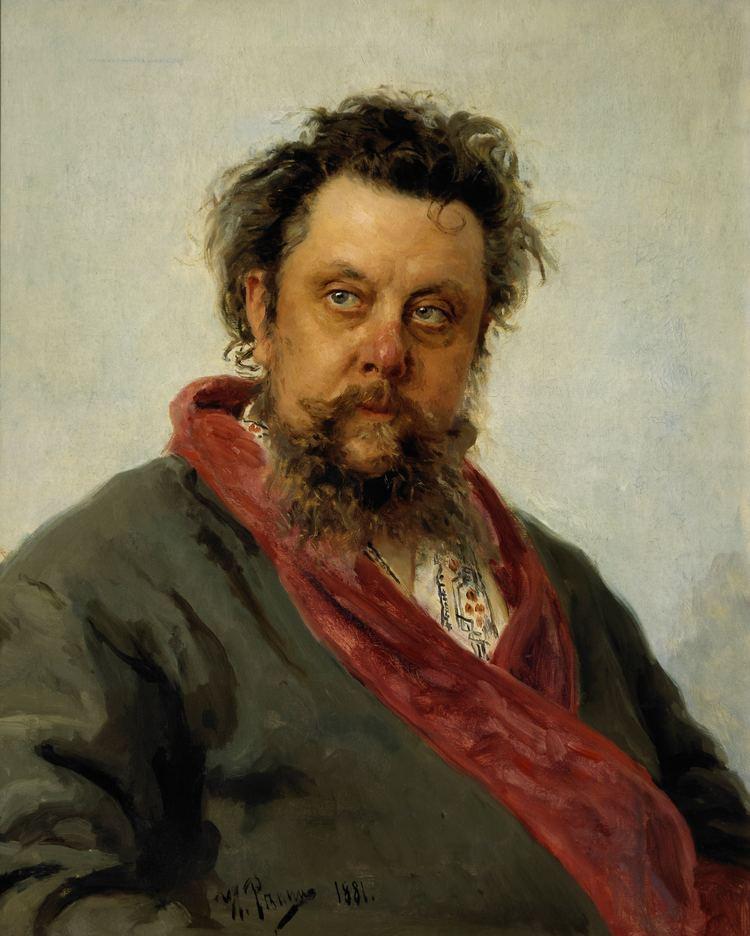 Modest Mussorgsky Modest Mussorgsky Wikipedia the free encyclopedia