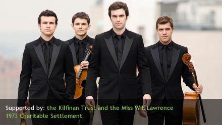 Modigliani Quartet Newbury Spring Festival Modigliani Quartet