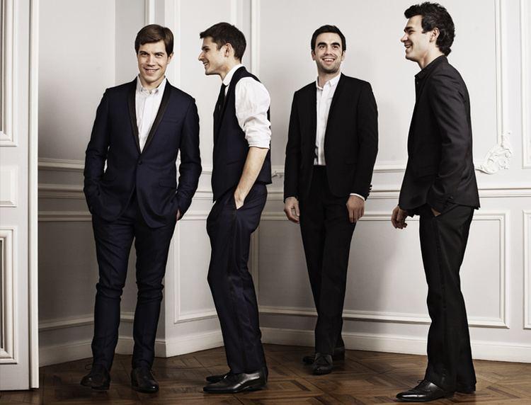 Modigliani Quartet Modigliani Quartet performing in Seattle French American Cultural
