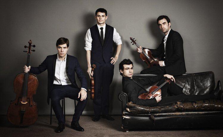 Modigliani Quartet Modigliani Quartet refreshing passionate in Palm Beach concert