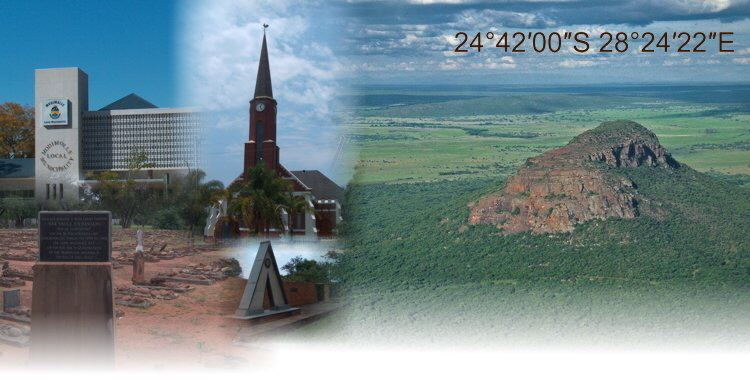Modimolle in the past, History of Modimolle