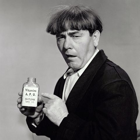 Moe Howard June 19 Todays Birthday in Comedy Moe Howard