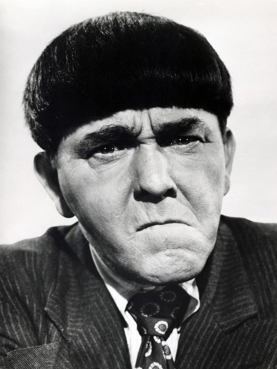 Moe Howard A Tribute to Moe Howard of the Three Stooges Neat People