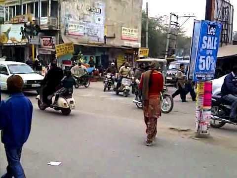 Moga, Punjab Traffic in Moga Punjab India YouTube