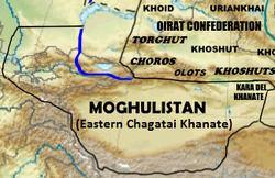 Moghulistan Moghulistan Wikipedia bahasa Indonesia ensiklopedia bebas