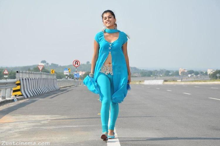 Mogudu (film) Hyderabad Tapsee Latest Hot Photos in Blue Chudidar Mogudu Film