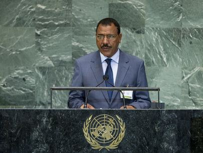 Mohamed Bazoum UN General Assembly General Debate of the 67th Session Niger