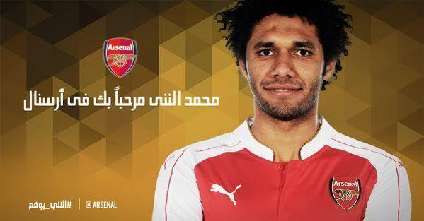 Mohamed El Neny Egyptian Footballer Mohamed ElNenny Signs With Arsenal FC