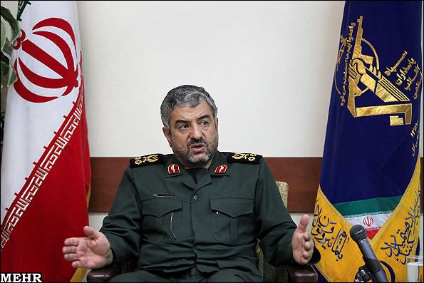 Mohammad Ali Jafari IRAN Commander outlines Revolutionary Guards muscular role in