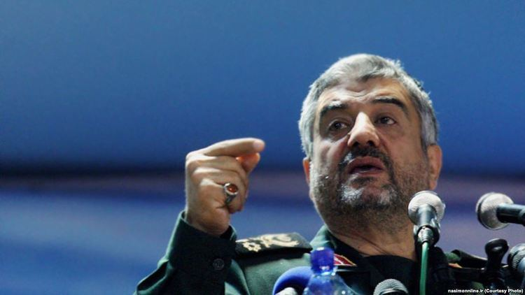 Mohammad Ali Jafari Commander Threatens US Bases If IRGC Comes Under Sanctions
