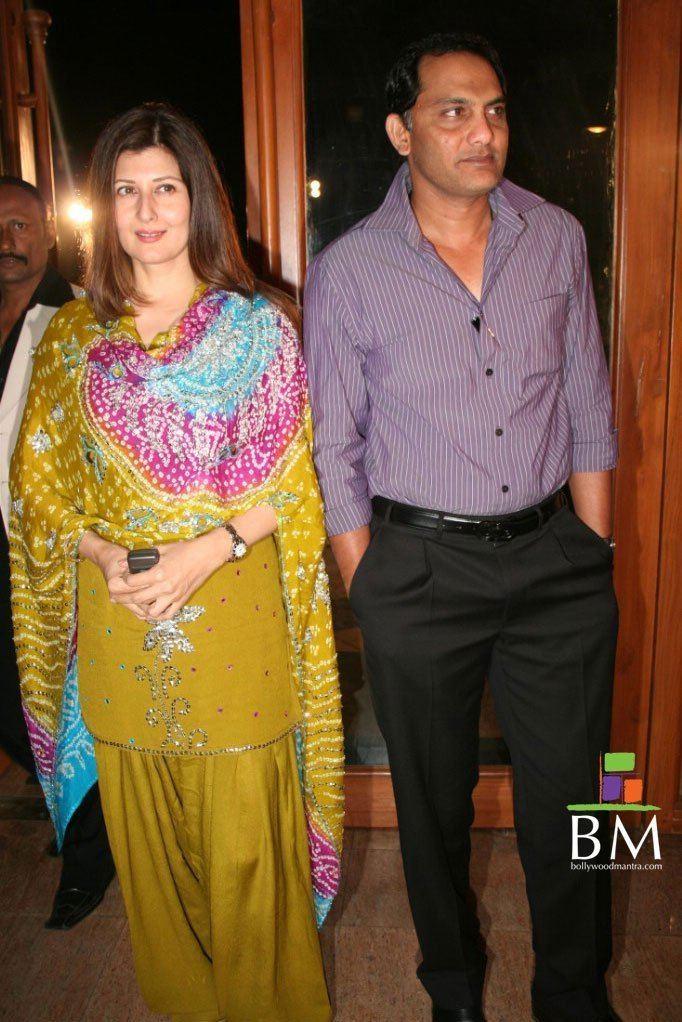 Mohammad Azharuddin (Cricketer) family
