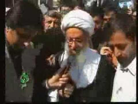 Mohammad Fazel Lankarani Ayatollah Lankarani funeral YouTube
