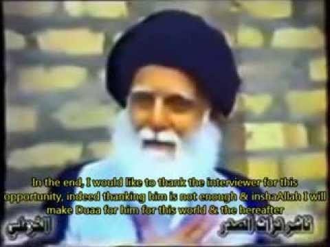 Mohammad Mohammad Sadeq al-Sadr english subtitles Sayyid Muhammad Sadiq as Sadrs advice to youth