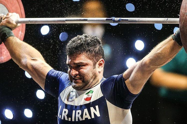 Mohammad Reza Barari FileMohammad Reza Barari in the first place of 2016 Fajr Cup in the
