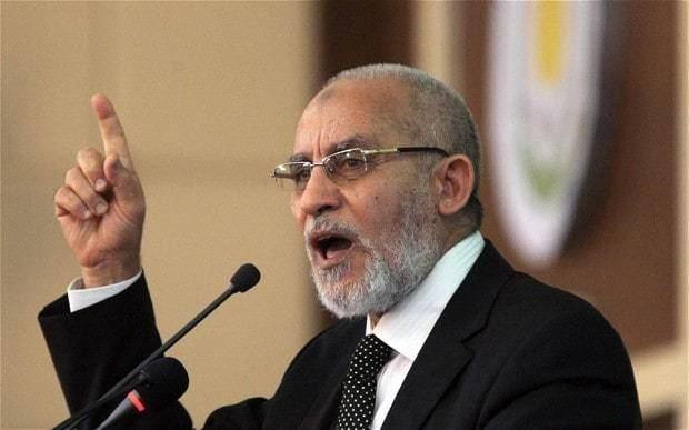 Mohammed Badie Egypt condemns to death Muslim Brotherhood chief Mohammed Badie and