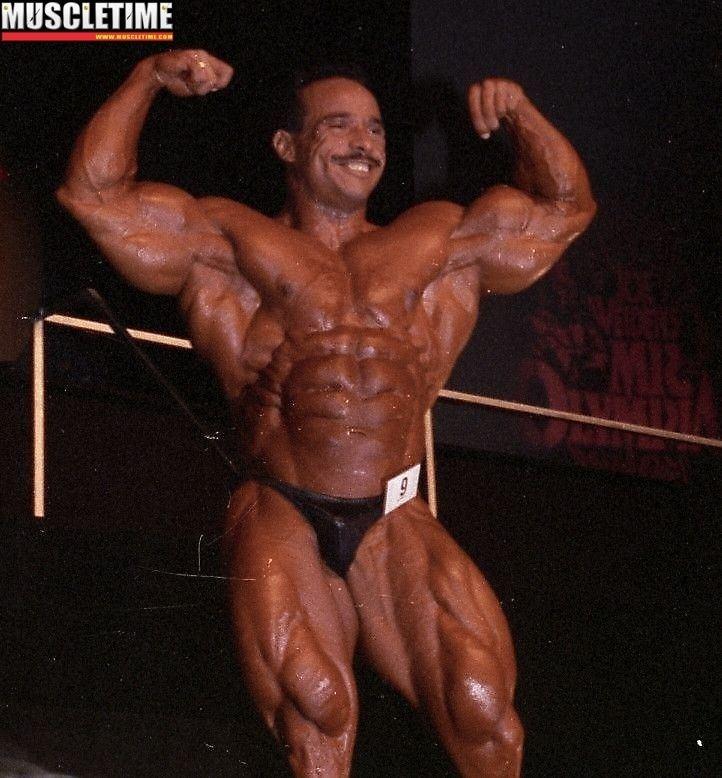 Mohammed Benaziza Gallery Mohammed Benaziza at 1992 Mr Olympia 1992 Olympia