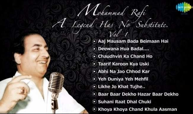 Mohammed Rafi Mohammed Rafi birthday special Top 10 songs jukebox of Indias