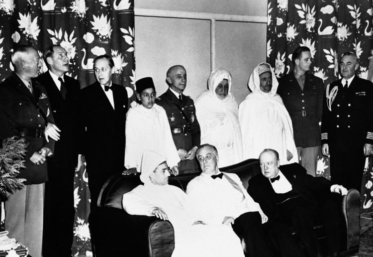 Mohammed V of Morocco You must remember this Sultan Mohammed V protected the Jews of