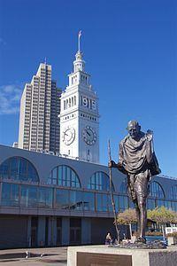 Mohandas K. Gandhi (sculpture) httpsuploadwikimediaorgwikipediacommonsthu
