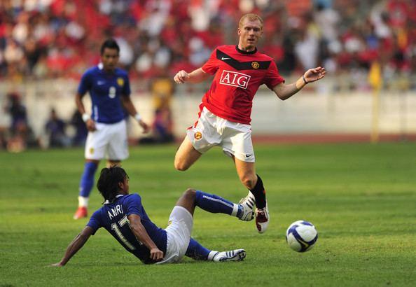 Mohd Amri Yahyah Mohd Amri Yahyah Pictures Malaysia XI v Manchester