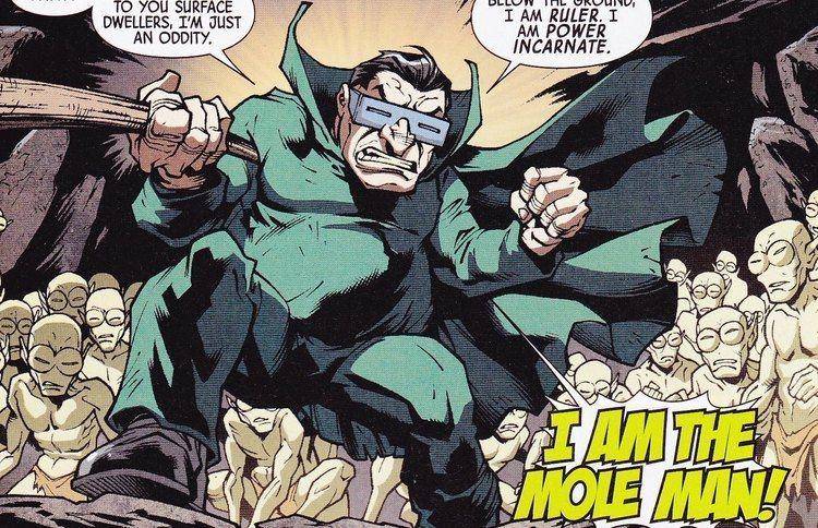 Mole Man Marvel Heroes Mole Man Battle YouTube