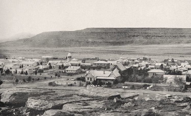 Molteno, Eastern Cape in the past, History of Molteno, Eastern Cape