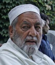 Molvi Iftikhar Hussain Ansari Molvi Iftikhar Hussain Ansari passed away Only Kashmir
