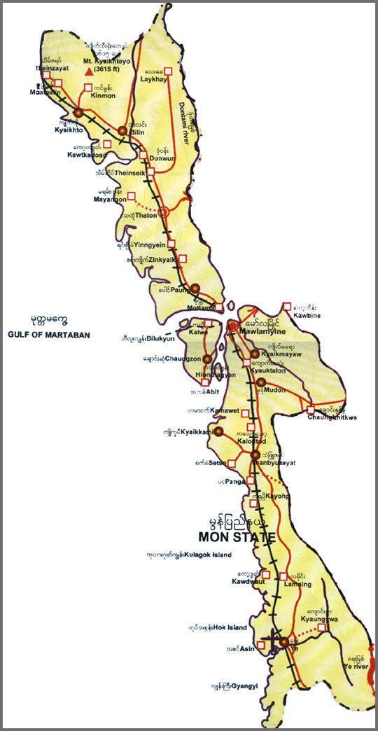 Mon State Myanmar Travel Information