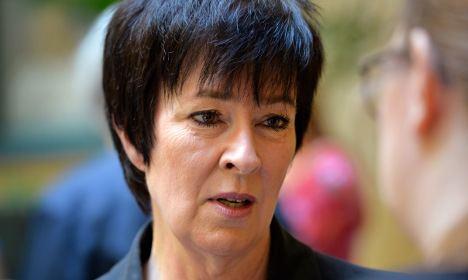 Mona Sahlin Mona Sahlin quits in bodyguard mortgage fiasco The Local