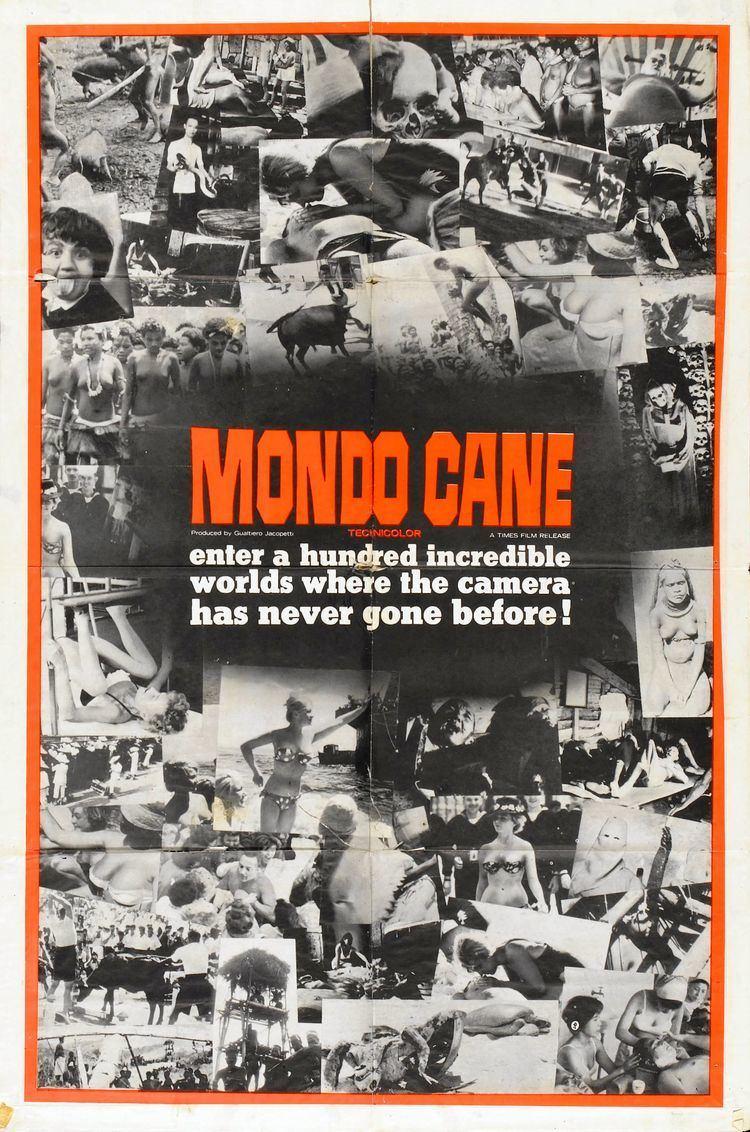 Mondo Cane Poster for Mondo cane aka Dogs Life 1962 Italy Wrong Side of