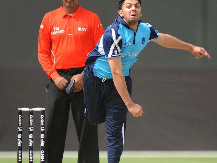 Moneeb Iqbal Player Profile Scotland Sky Sports Cricket