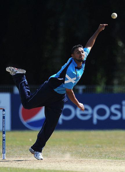 Moneeb Iqbal Photos Photos ICC World Cricket League Division One