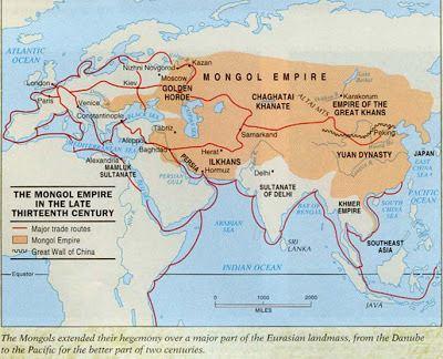 Mongol Empire Mongolian Empire East Asia History for Kids