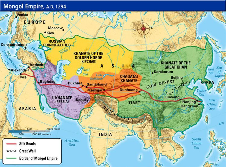Mongol Empire military What prevented the Mongolian Empire from expanding into