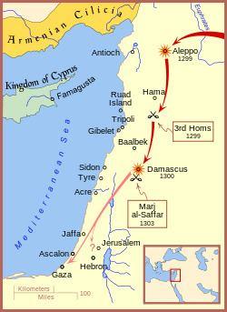 Mongol raids into Palestine httpsuploadwikimediaorgwikipediacommonsthu