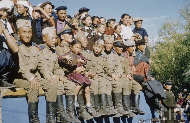 Mongolian People's Republic Old Picz Mongolian People39s Republic 1958 Part 2